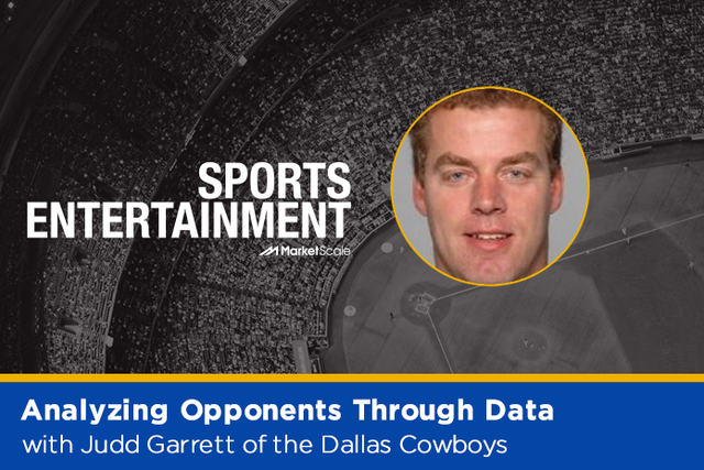 Dallas Cowboys Director of Pro Scouting Judd Garrett on data and analytics in the NFL