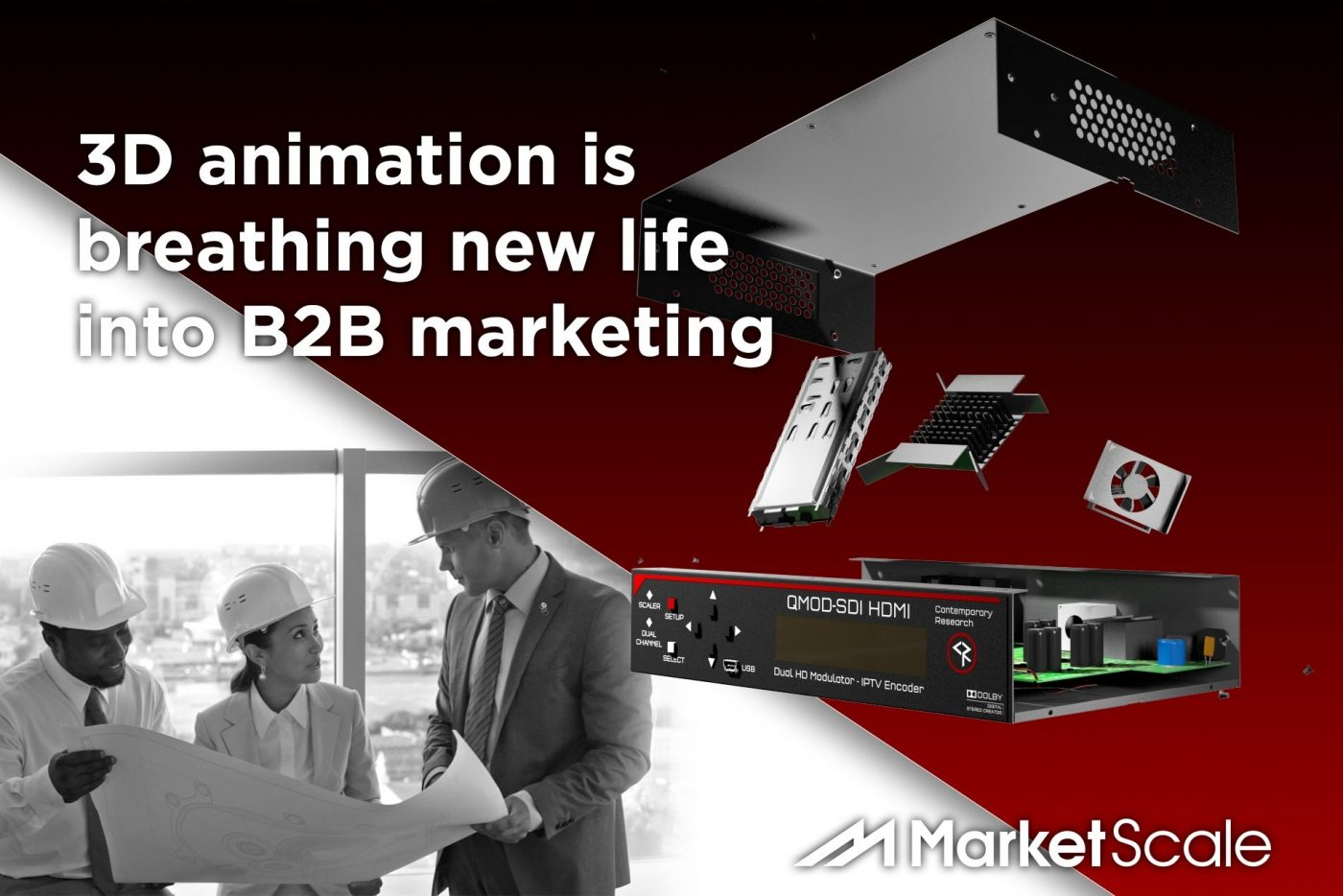 Content Marketing with 3D Product Animation