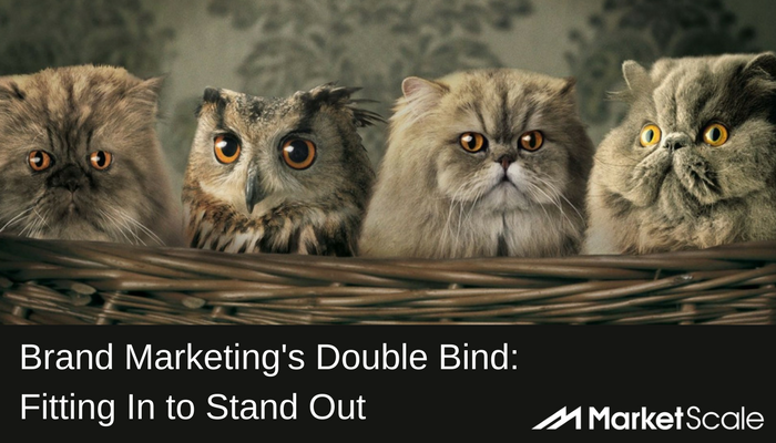 Brand Marketing's Double Bind: To Stand Out, Brands Must also Fit In