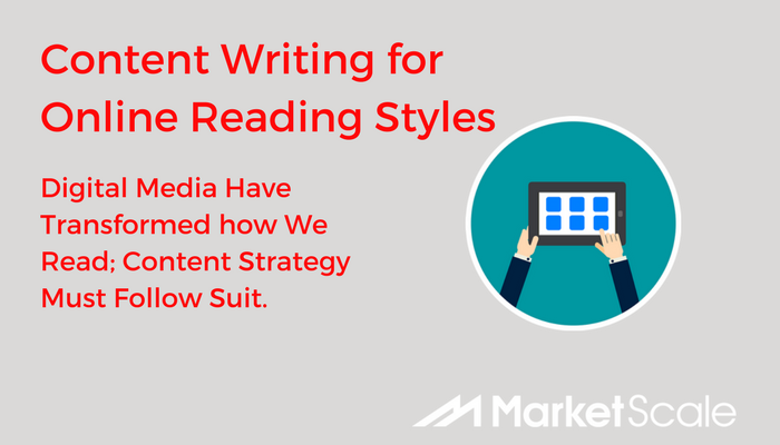 How to Strategize Content Writing for (Distracted) Online Reading Styles (Infographic)