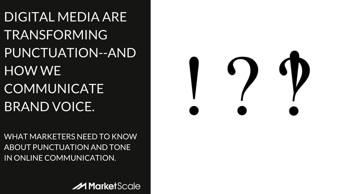 Differentiating Brand Voice in an Age of Excessive Exclamation!!!