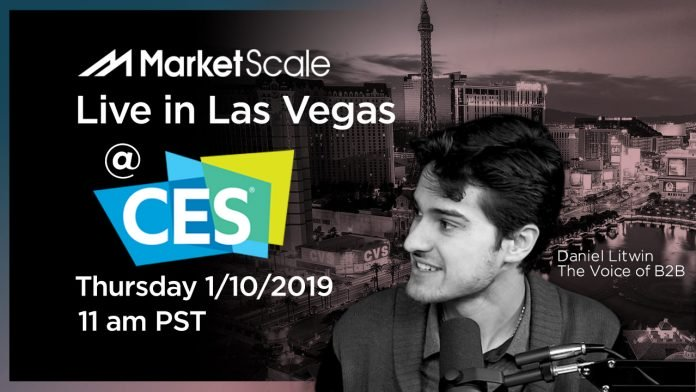 MarketScale Software & Technology Live Podcast at CES 2019