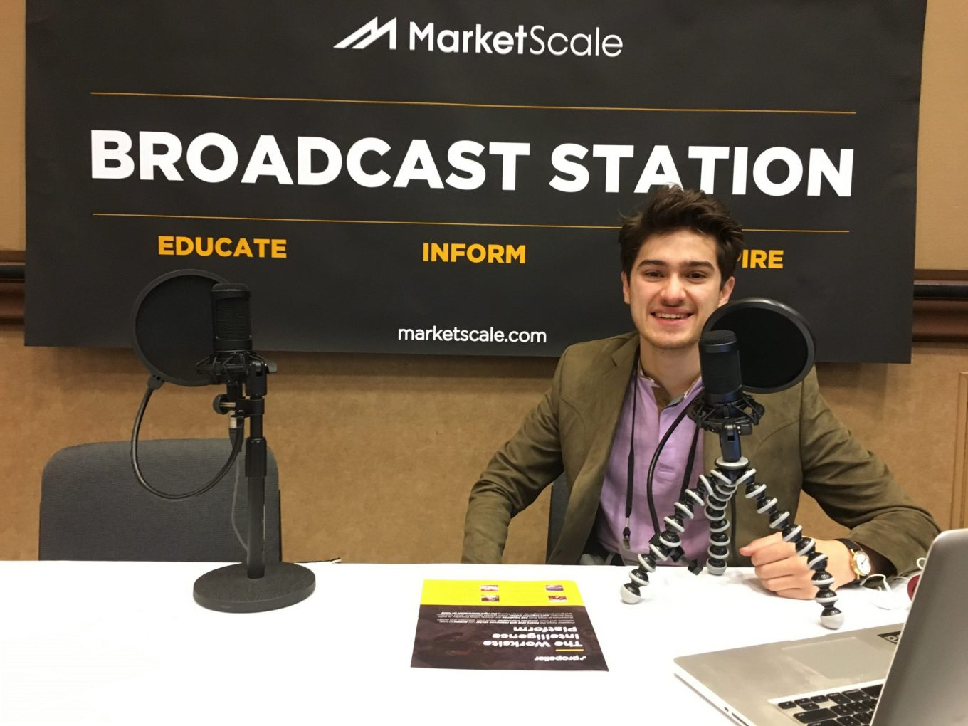 MarketScale Podcasting from InterDrone 2018 In Las Vegas