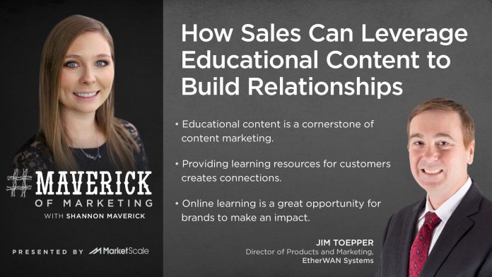 How Can Marketing Leverage Online Learning to Connect with Customers?