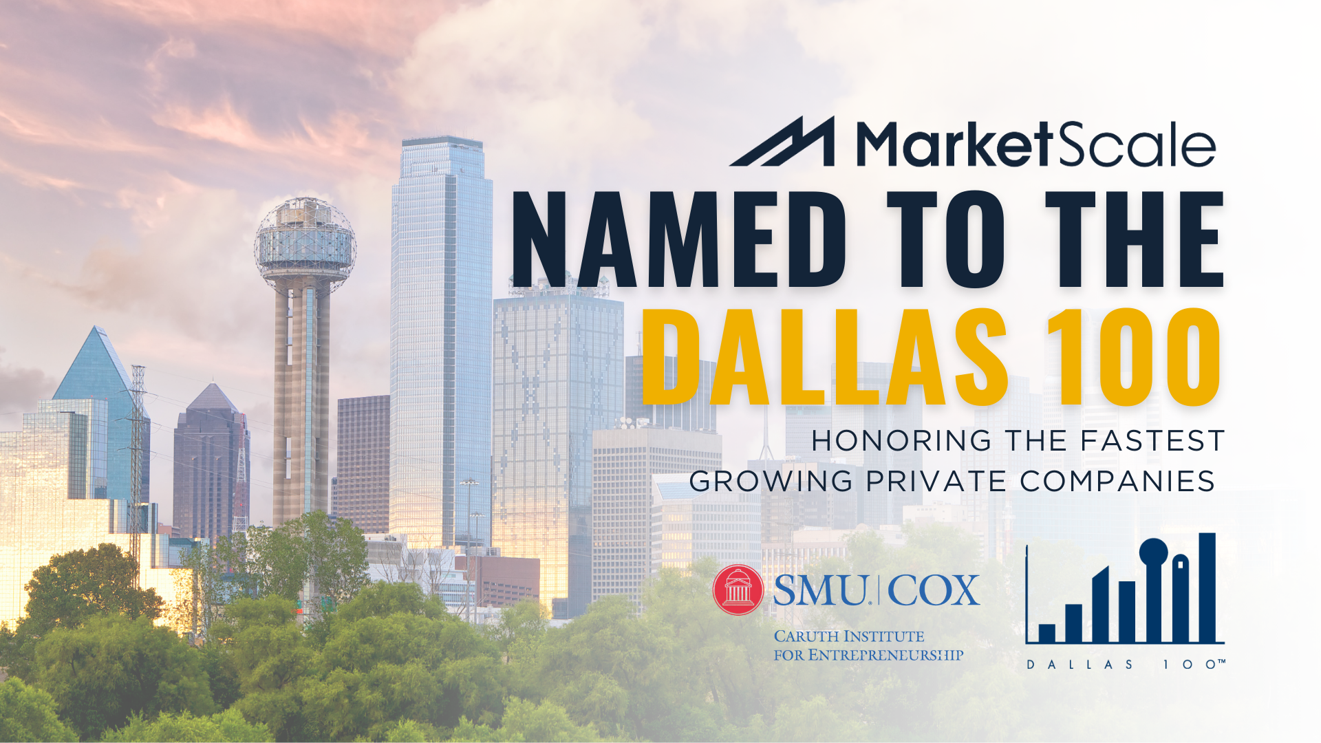 MarketScale Named to Dallas 100 Fastest Growing Private Companies