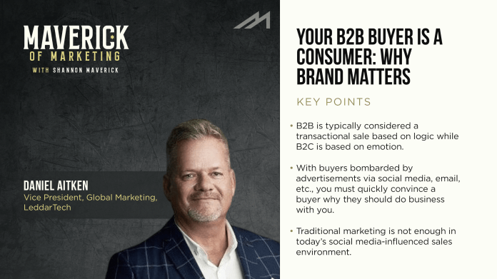 Your B2B Buyer is a Consumer: Why Brand Matters