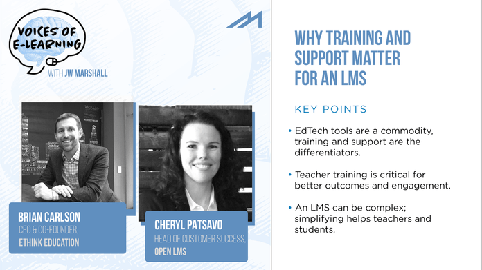 Why Training and Support Matter for an LMS
